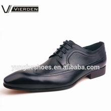 Venta al por mayor de zapatos italianos hechos a mano nuevo estilo 2015, zapatos de vestir para hombre SP030-05