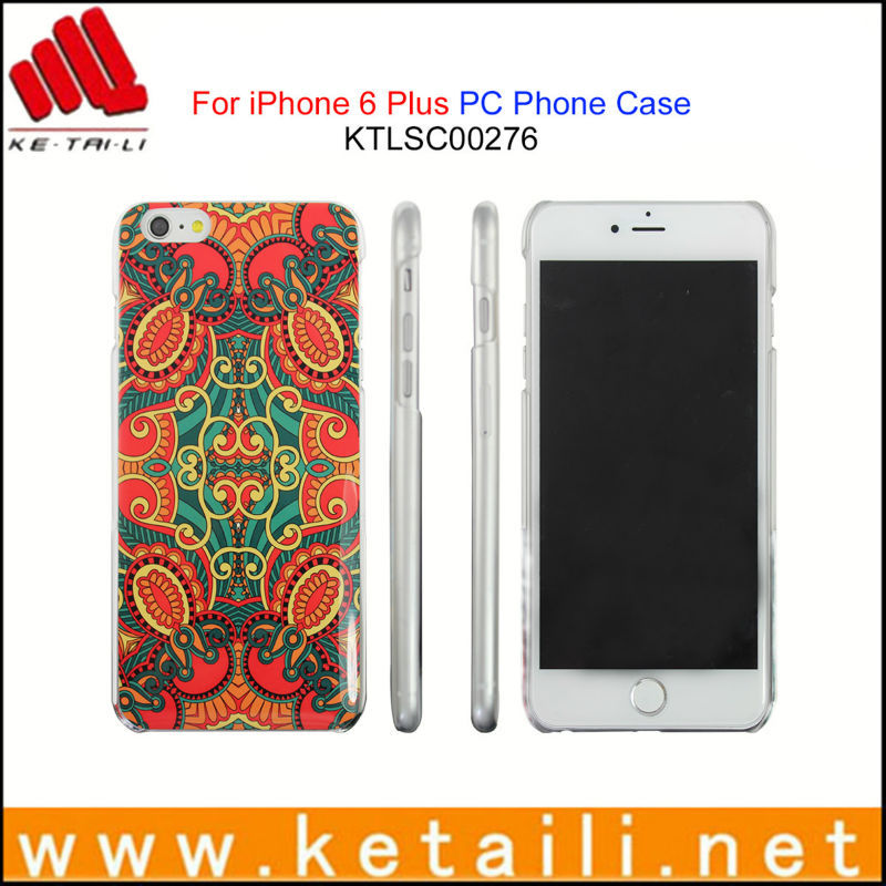 Newest plastic mobile phone cover for iphone 6 plus