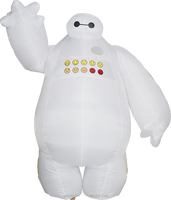 big hero 6 robot baymax mascot costume for kids--828302#