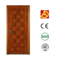 2015 exterior carved wooden door designs double panels DA-304