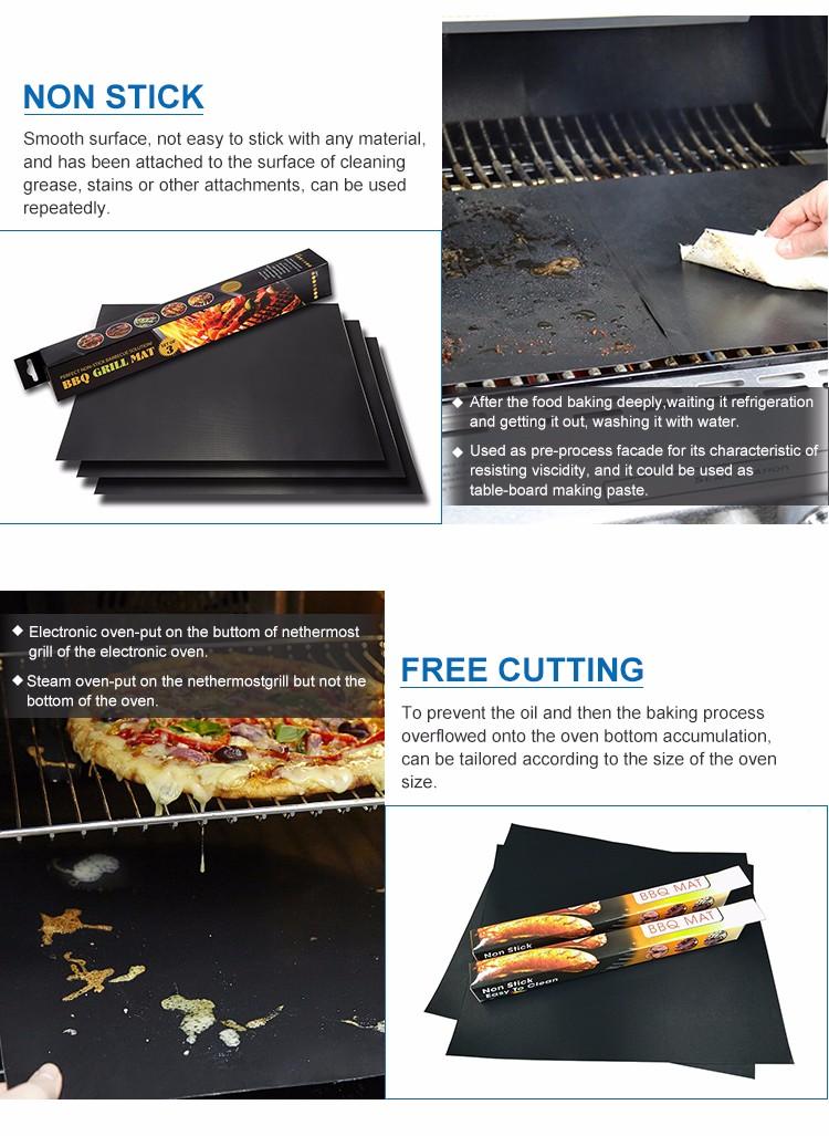 Hot novos produtos PARA CHURRASCO Grill mat, PTFE bbq grill mateus, não-stick cooking churrasco mat granel comprar a partir de china