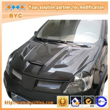For Nissan 2006~2013 Year Livina Engine Body Parts Cover carbron fiber Spare Parts Car Accessories