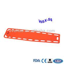 WSX-S5 X-ray translucency HDPE Spine Board, Water Rescue Backboard