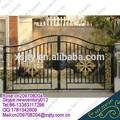 Casa de aço portão principal/ferro desenhos portão principal
