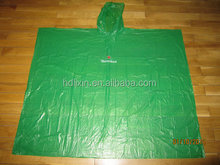 Best quality recyclable rain poncho for adult,customized logo and design,OEM welcome