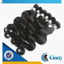 el mejor vendedor de cabello suministra tejido del hilo de la seda hilo del humano peruano para los compradores de EE.UU