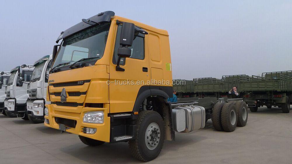 Sinotruk Howo 6x4 Tipper Truck