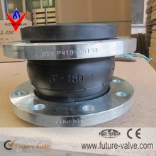 DN200 PN10 EPDM Rubber Bellows Expansion Joint