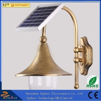 18LED China products Outdoor lighting decorative solar led wall lamp for garden led projectors