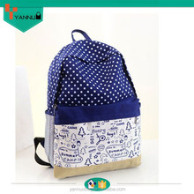 Good and cheap products fashionable school bag new model college girls