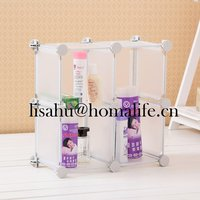 Packing plastic storage box with handle for clothes