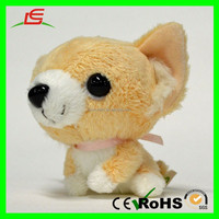 E449 Small Body Big Eyes Cute Lovely Animal Toys Plush Chihuahua