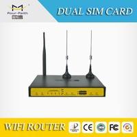 F3432 Video Surveillance Systems Integrator modem system data transmission 3G dual sim card router