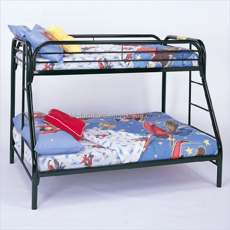 New design metal triple bunk bed cheap steel bunk bed for for Cheap bunk beds for sale