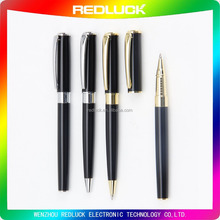 Wholesale customized logo luxury metal gift roller ball pen for promotion gel pen
