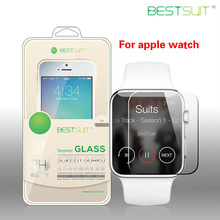 Best selling hot chinese products clear tempered glass screen protectors for apple watch