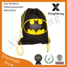 Promotional drawstring backpack kids reusable shopping bags