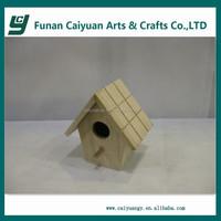 cheap wooden bird nest