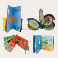 Children english story book/sound board book printing