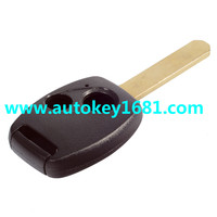 MS car key cover for honda civic accord remote control 2 button replacement key shell with uncut blade