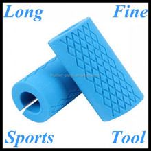 Wholesale fitness club components multi-purpose handle grips silicone dumbell /barbell grip