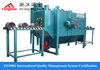 Steel tube wall shot blasting machine