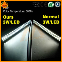 CE, FCC, RoHS approved factory direct-sell price IP68 6000K 53inch 288w piranha led light bar