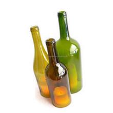 Beautiful Triple Wine Bottle Art Hurricane Lamp Centerpiece Wine Bottle candle holder