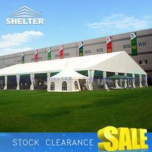 White PVC 850g/sqm Block Waterproof Tent Cover Fabric
