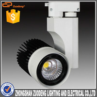 dimmable high quality cri80 pf0.9 CE track light commercial indoor Dubai Steel Rail