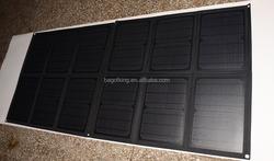 120W solar charger mobile phone IPAD laptop Powerbank battery solar foldable bag