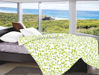 Luxurious bright color double Summer quilt, disperse print