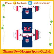 Quick dry factory supply high quality ice hockey jersey/ice hockey uniform/ice hockey wear