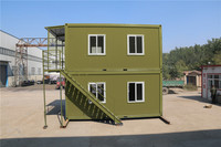 sandwich solid prefab european 2013 newly designed accommodation container house