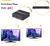 1080P/60Hz 2 Port AV Audio Video Splitter, HDMI Splitter 1x2 Support 3D