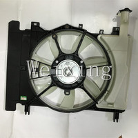 auto air conditioning condenser electric fan motor for Toyota Vios 2014
