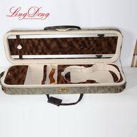 Antique color best selling good leather violin case