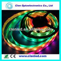 chanel case DMX512 5050 led lights battery power led strip