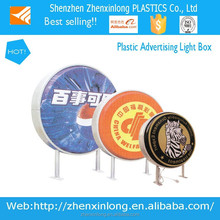 Outdoor vacuum forming white PMMA advertising light box