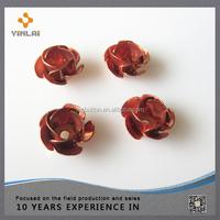 Low price wholesale craft metal flower