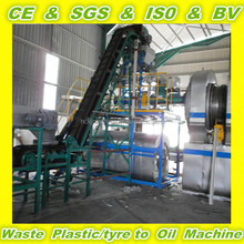 FULL CONTINUOUS newest technology recycling automatic machine for waste tyre waste rubber
