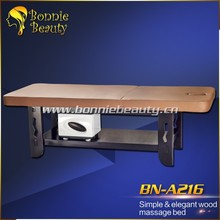 A216 Simple & elegant sturdy Wood Massage Table