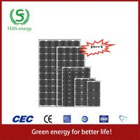 High quality 130w TUV/CE/IEC/MCS Approved Mono Crystalline Solar Module,Solar System Use