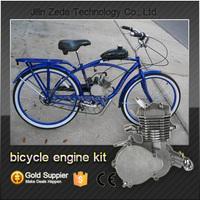 2 stroke gas/gasoline/petrol/diesel bike engine kit,single clinder 2 cycle bike engine