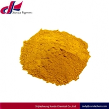 Natural Yellow pigment Iron Oxide For emulsion paint for external