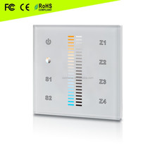 High sensitive and hight stable glass touch color line RF& WiFi cct led controller