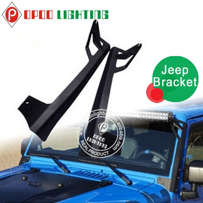 bar light mounting bracket jeep jk 50 39 39 led bar light mounting br. Black Bedroom Furniture Sets. Home Design Ideas