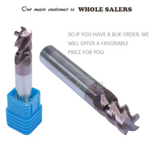 30Degree 2/4 Flutes Solid Carbide End Mill