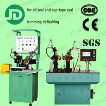 high quality rubber product processing machine for oil seal trimming