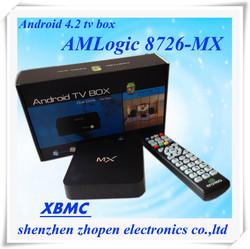 2014 best factory quad core Arabic iptv android tv box amlogic mx